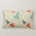 Cute Christmas Trees and Stars Pillow