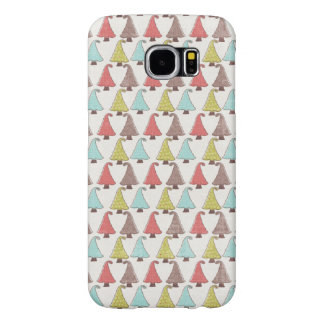Cute Christmas Trees Pattern Samsung Galaxy S6 Cases