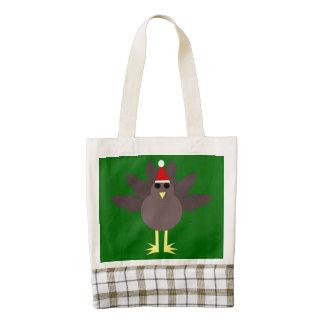 Cute Christmas Turkey Tote Bag