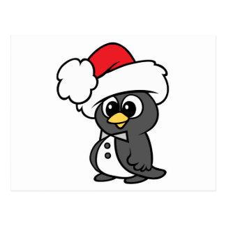 Cute Christmas Tuxedo Penguin Post Cards