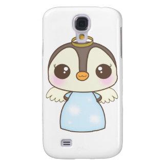 cute christmas winter angel penguin HTC vivid cases