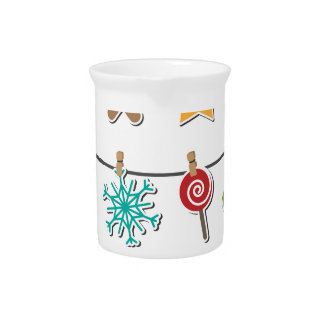 Cute Christmas Xmas Hanging Decoration Pitcher
