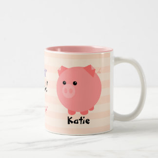 Cute Chubby Pig  Mug