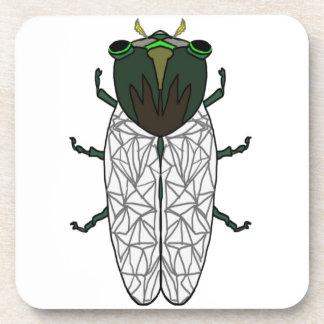 Cute Cicada Coaster