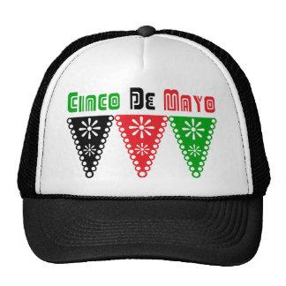 Cute Cinco De Mayo Flag Gift Trucker Hat