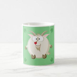 Cute circle goat mugs
