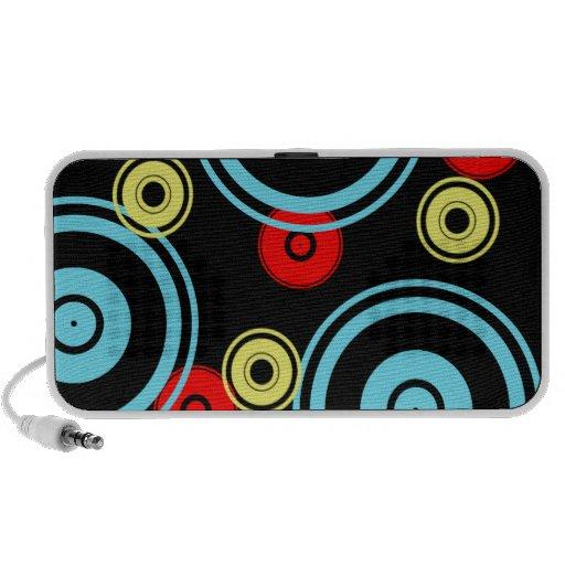 cute circles pattern speaker