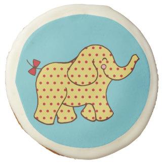 Cute Circus Elephant Cookies