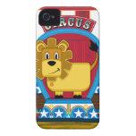 Cute Circus Lion iphone Case Case-Mate iPhone 4 Case