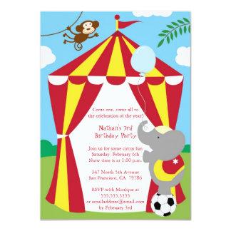 Circus Theme Invitations & Announcements   Zazzle