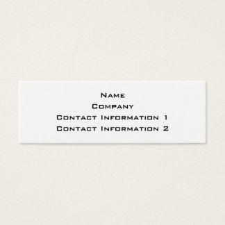 Cute Clam. Mini Business Card
