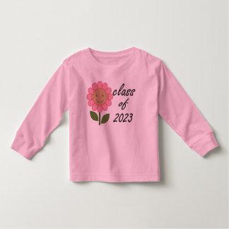 Cute Class of 2023 Pink Graduation Hat Toddler T-shirt