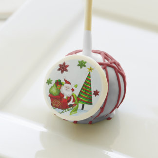Cute Classic Santa Whimsey HOLIDAY PARTY FAVORS