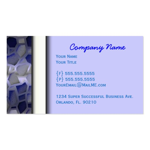 Cute Classy Professional Business Cards