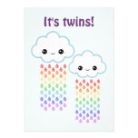 Cute Cloud Baby Shower Cards