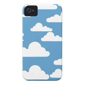 Cute Clouds iPhone 4 Cover