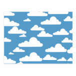 Cute Clouds Post Card
