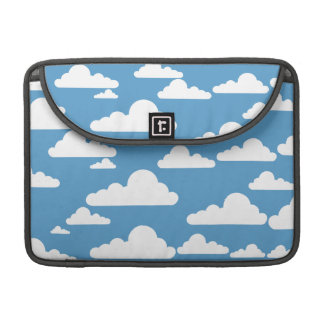 Cute Clouds Sleeve For MacBook Pro