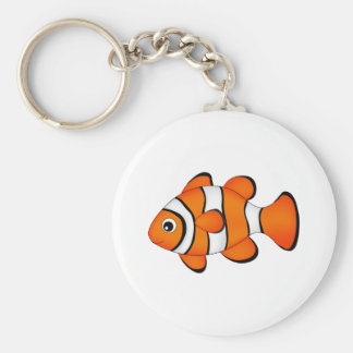 cute clown fish keychain