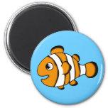 cute clown fish magnet