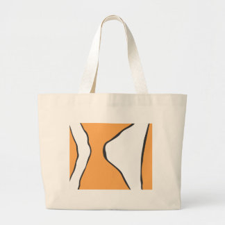 Cute Clown Fish Orange Skin Pattern Canvas Bag