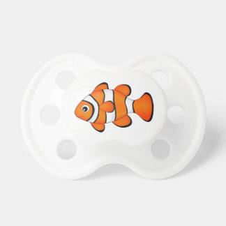 cute clown fish pacifier