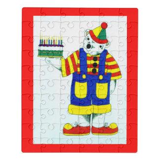 Cute clown jigsaw puzzle