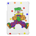 Cute clown with flowers cover for the iPad mini