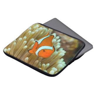 "Cute Clownfish 13"" laptop sleeve"