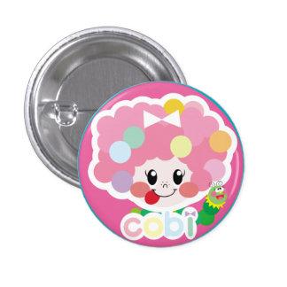 cute cobi-chan's can batsuji ♡ 1 inch round button