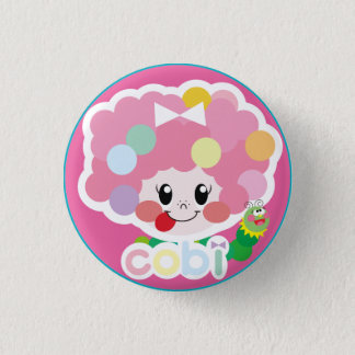 cute cobi-chan's can batsuji ♡ button