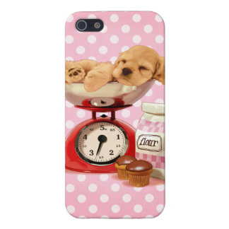 Cute Cocker Spaniel Cover For iPhone SE/5/5s