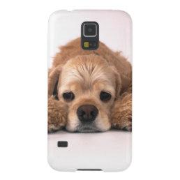 Cute Cocker Spaniel Galaxy S5 Cover