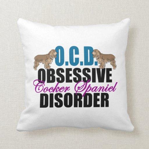 Cute Pillows With Sayings : Cute Cocker Spaniel Throw Pillow Zazzle