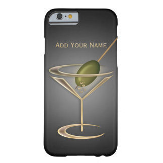 Cute Cocktails Personalized Barely There iPhone 6 Case