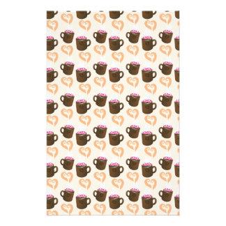 Cute coffee cups Hot Chocolate Stationery
