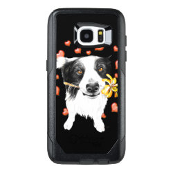 OtterBox Commuter Samsung Galaxy S7 Edge Case with Collie Phone Cases design
