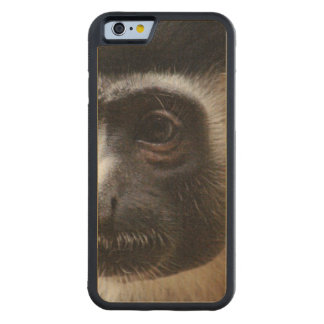 Cute Colobus Monkey Carved® Maple iPhone 6 Bumper Case