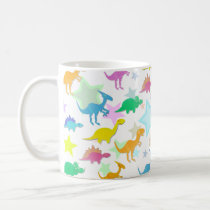 Cute Color Dinosaurs Mug