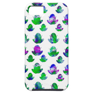 Cute Colored Frogs iPhone 5 Covers