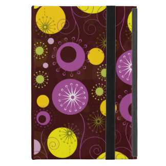 Cute Colorful Abstract Flowers 2 iPad Mini Cover