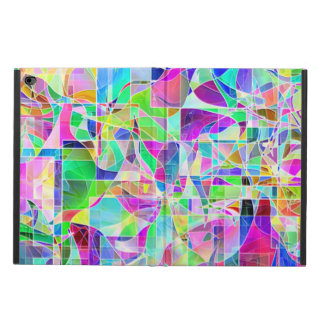 Cute colorful abstract geometric fragments design powis iPad air 2 case