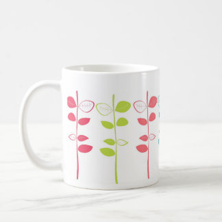 cute colorful branches coffee mug