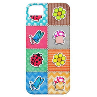 Cute & Colorful Butterfly, Ladybug, and Flower iPhone 5 Cases