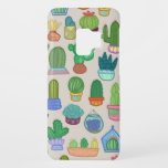 "Cute Colorful Cactus Pattern Print Phone Case<br><div class=""desc"">Add a splash of color with this design of cute colorful cactus hand drawn digitally in an eye catching pattern.</div>"
