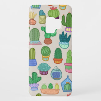 Cute Colorful Cactus Pattern Print Phone Case