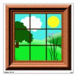 Cute Colorful Cartoon Window Decal