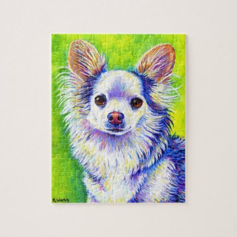 Cute Colorful Chihuahua Dog Puzzle