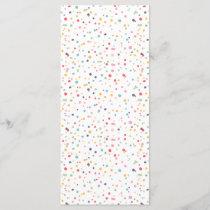 Cute Colorful Confetti Dots Pattern