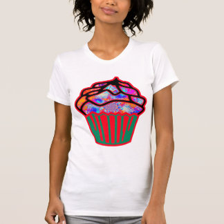 Cute Colorful Cupcake Tshirt